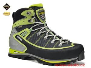Boty pro VHT a těžký trek z kombinace kůže a Kevlarové tkaniny Schoeller.  Špičkové odolné technické boty pro pohyb v náročném vysokohorském terénu. f7a52943cf
